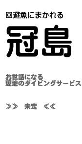 ダイビング_冠島サービス
