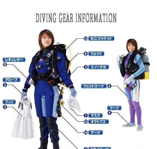 ダイビング器材一式